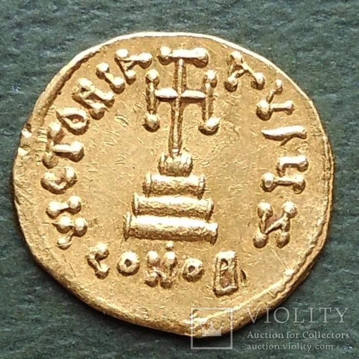 Византия: Констант II (641-668) солид, фото №3