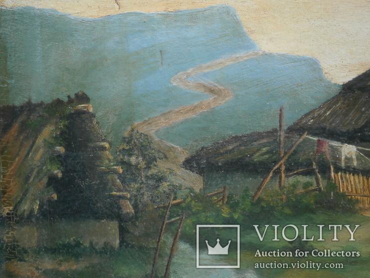 Картина подпись Ермаков 1941 год, фото №10