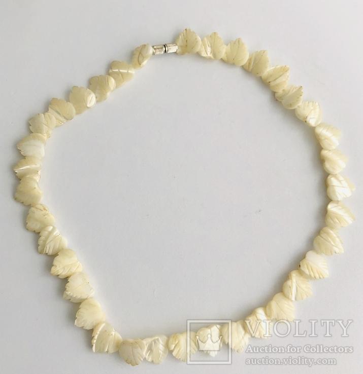 Перламутровое ожерелье (вес 23,3 гр), фото №2
