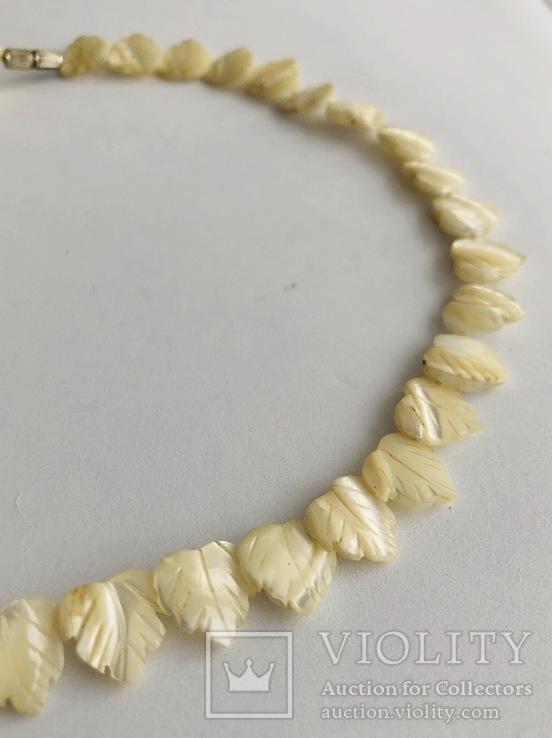 Перламутровое ожерелье (вес 23,3 гр), фото №4