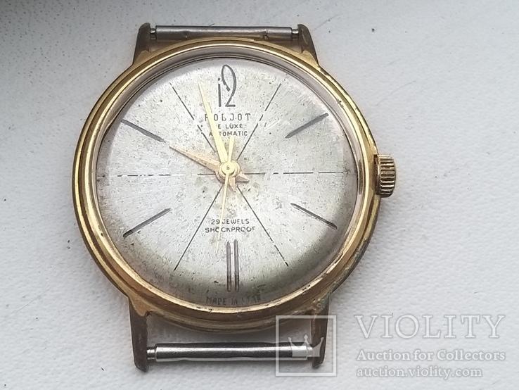Часы Полет де люкс.позолота AU20, фото №2
