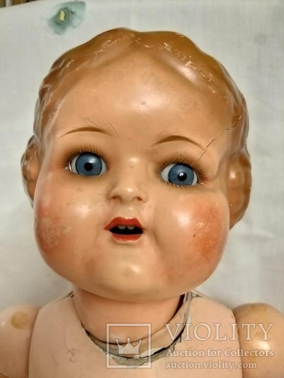 Кукла с зубками, папье маше на реставрацию. Германия., фото №2
