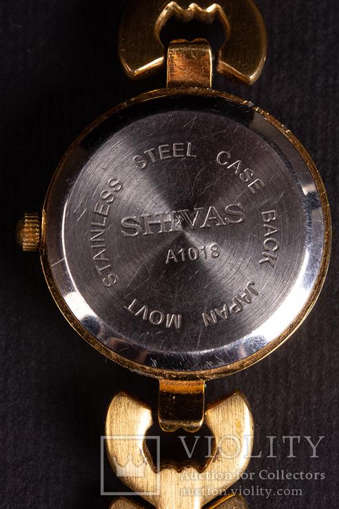 Женские часы SHIVAS, Japan, кварц, б.у., рабочие, фото №5