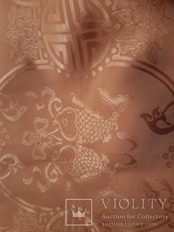 Шаль натур. шелк  70 см Х 200 см  Старый Китай., фото №3
