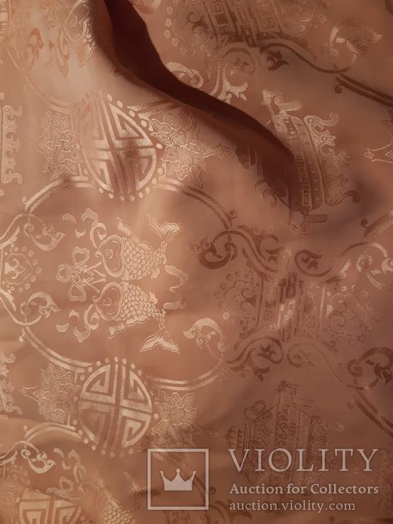 Шаль натур. шелк  70 см Х 200 см  Старый Китай., фото №4