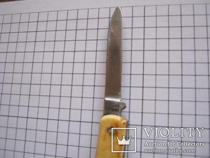 Маленький складной ножик  Mikov inox Czchoslovakia, фото №7