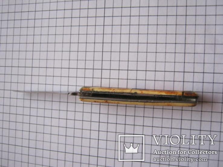 Маленький складной ножик  Mikov inox Czchoslovakia, фото №10