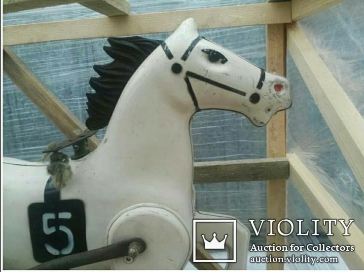 Конь Педальный.Лошалка Каталка лот из 2шт., фото №4