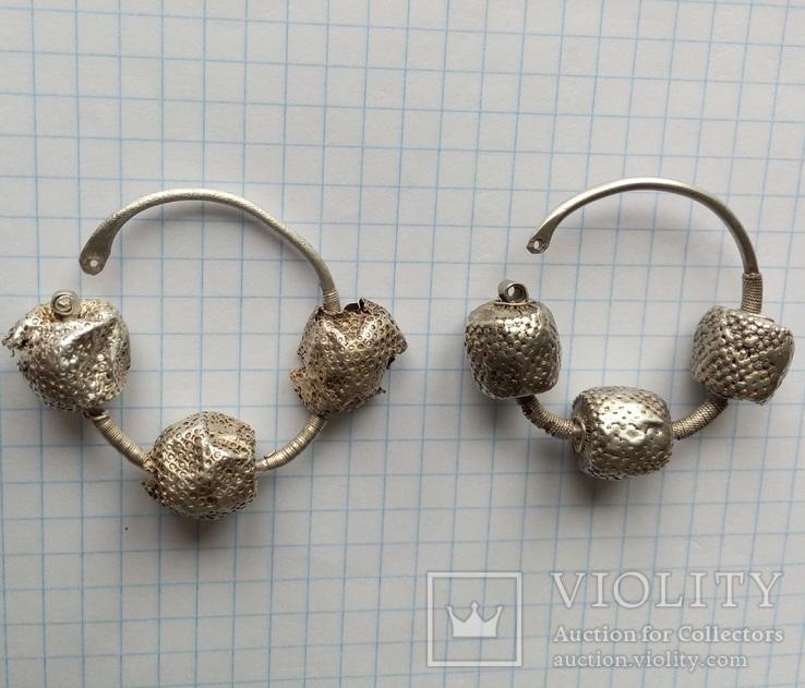 Срібні колти КР, фото №3