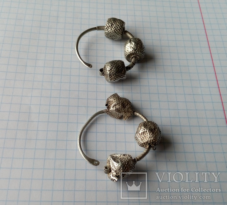 Срібні колти КР, фото №4