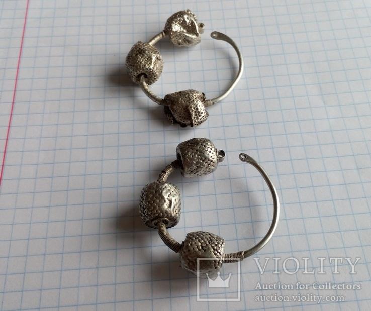 Срібні колти КР, фото №5