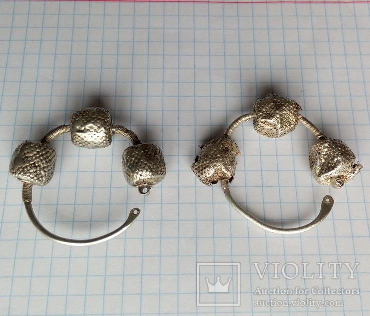 Срібні колти КР, фото №6