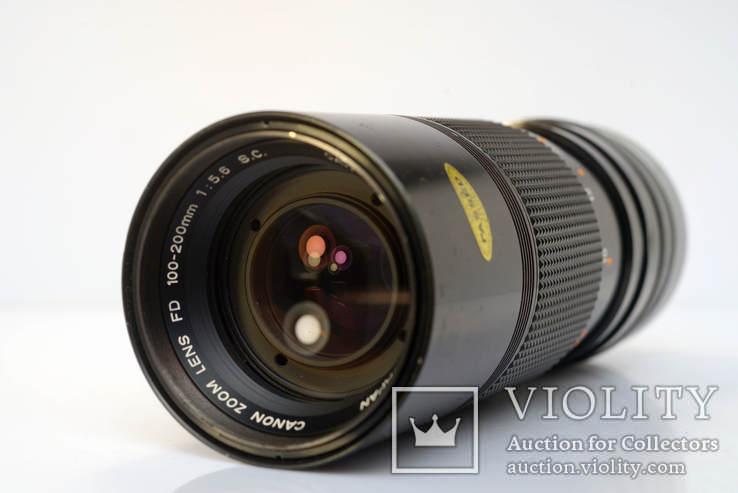Canon Zoom Lens FD 100-200mm f5.6 S.C., фото №3