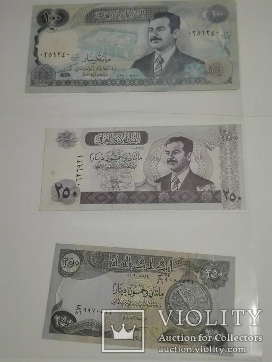 Ирак. Саддам Хусейн. 6 копюр., фото №4