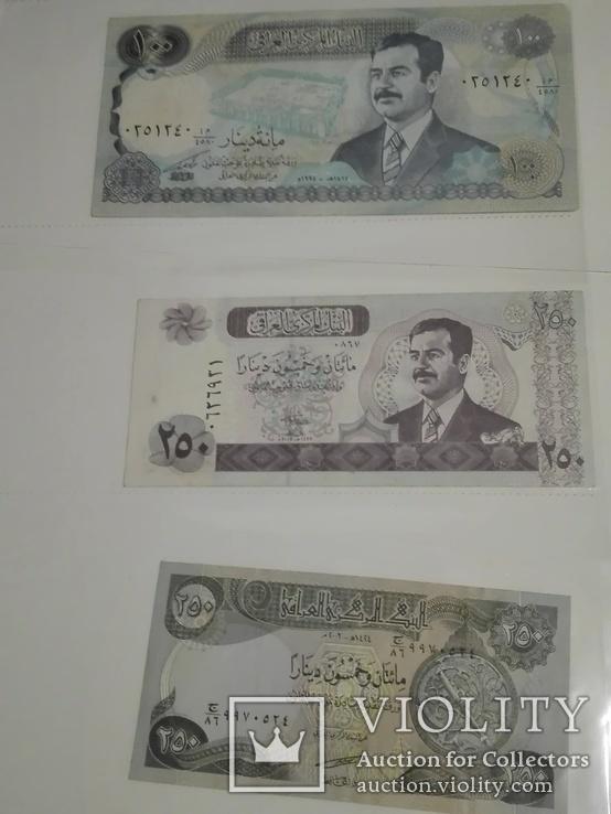 Ирак. Саддам Хусейн. 6 копюр., фото №6