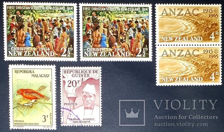 1964 г. Новая Зеландия
