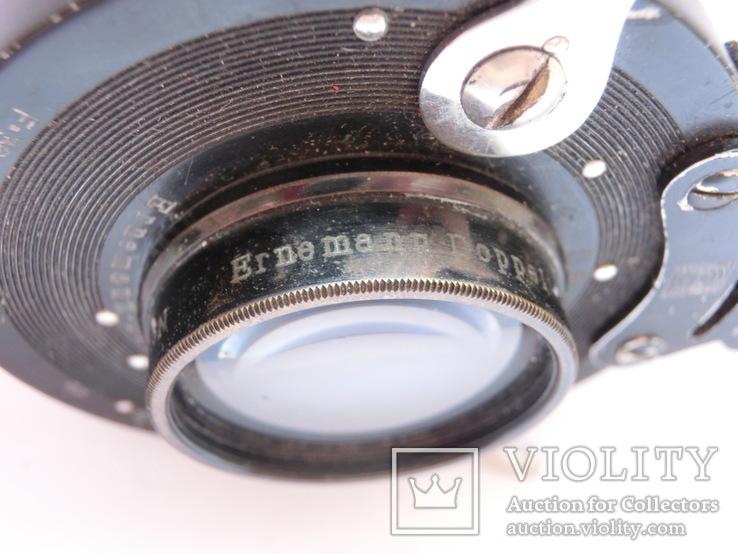 Объектив Ernemann Doppel 1=5.4 № 1 a F = 150mm., фото №8