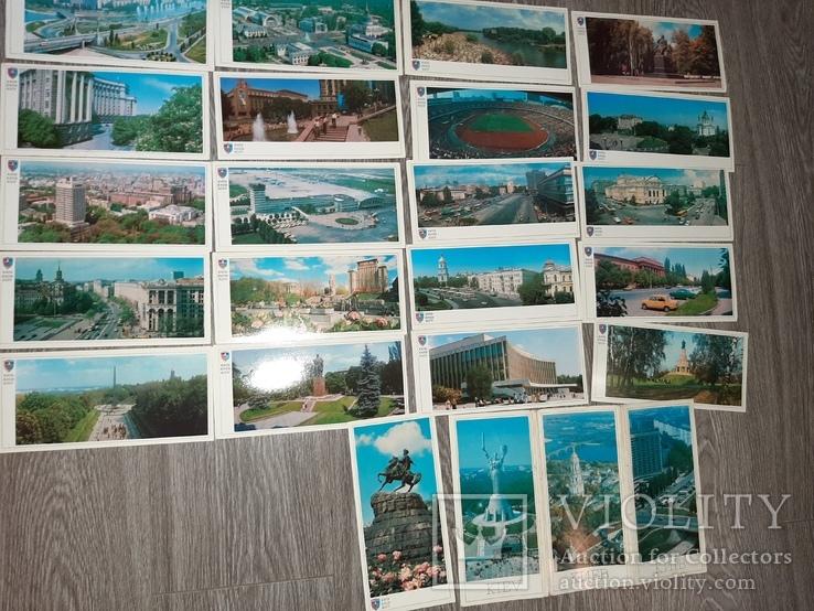 Набор открыток Киев СССР 21 шт 1982г., фото №3
