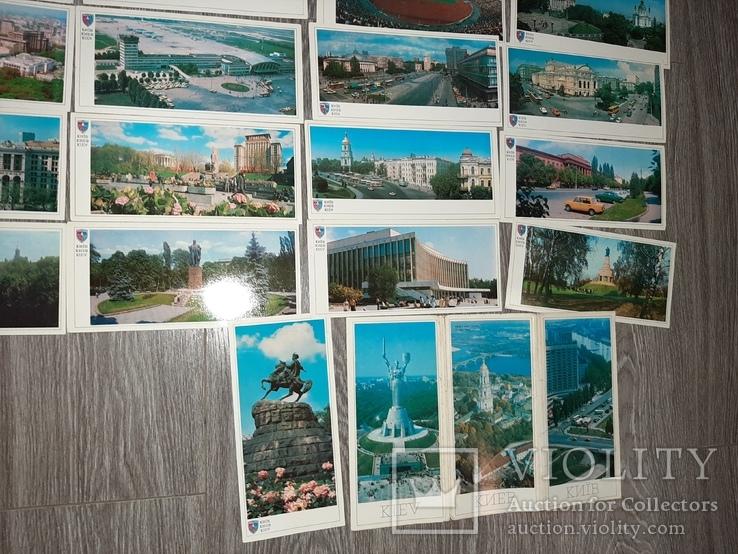 Набор открыток Киев СССР 21 шт 1982г., фото №5