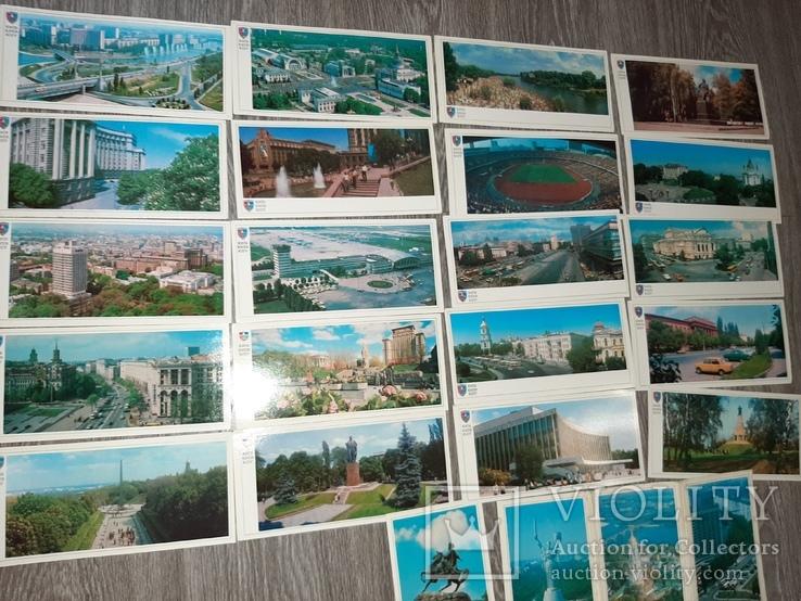 Набор открыток Киев СССР 21 шт 1982г., фото №6