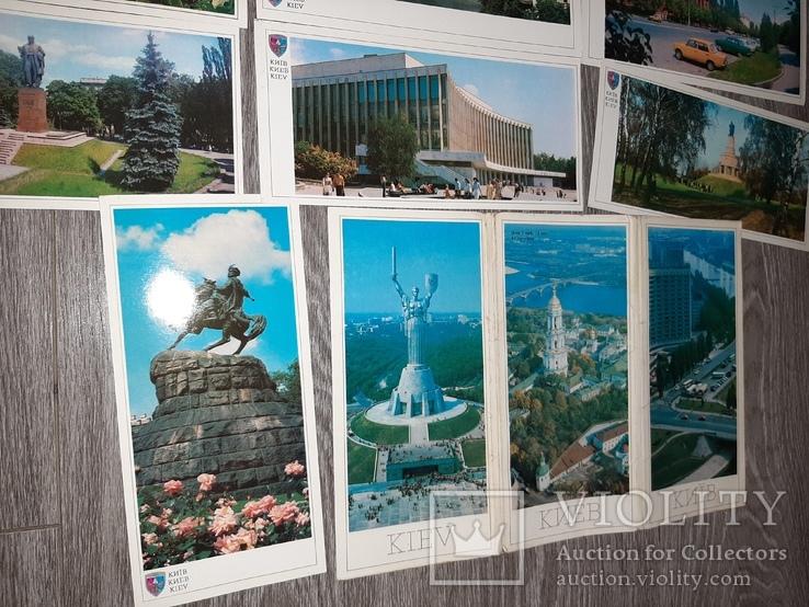 Набор открыток Киев СССР 21 шт 1982г., фото №8