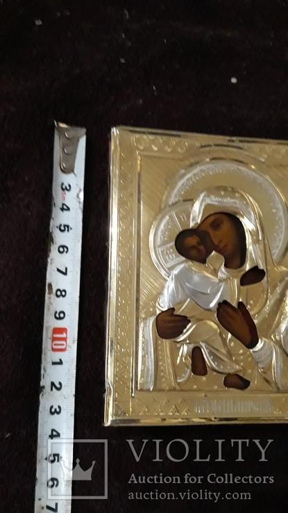 Вінчальна Пара срібна у позолоті з кіотами, фото №7