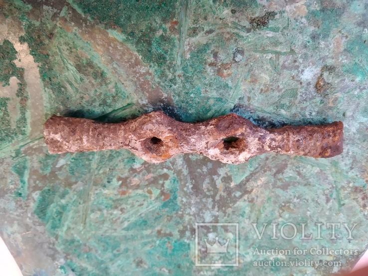 Сарматская упряжь и налобная пластина боевого коня., фото №7