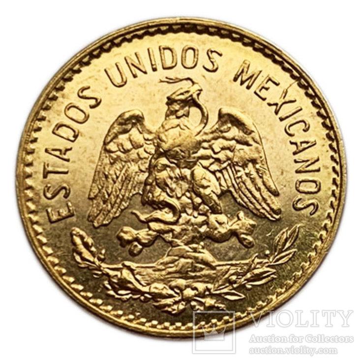 5 песо 1955 года. Мексика. UNC.