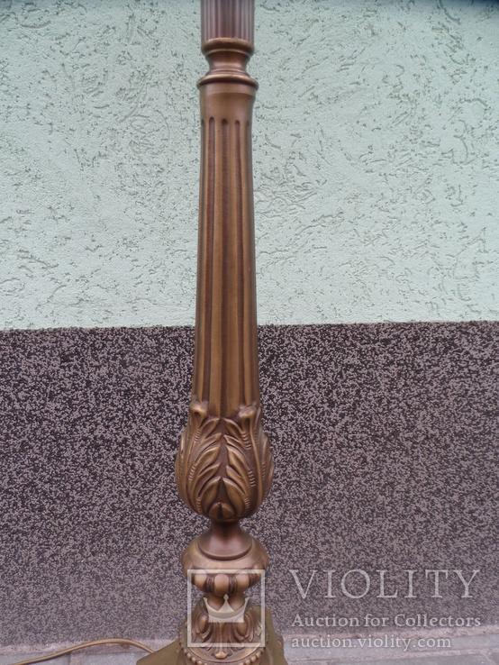 Торшер напольный Бронза Европа, фото №7