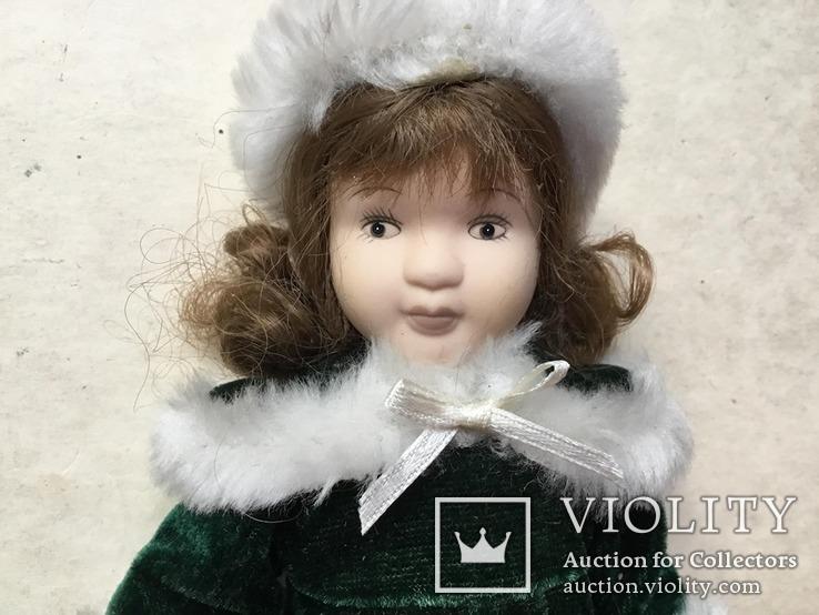 Кукла фарфор., фото №7