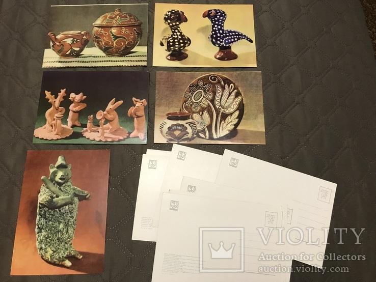 Набор открыток Українська кераміка, фото №5