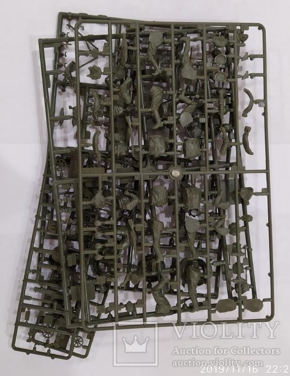Советский 120-ти мм. миномётный расчет, 1/35, фото №5
