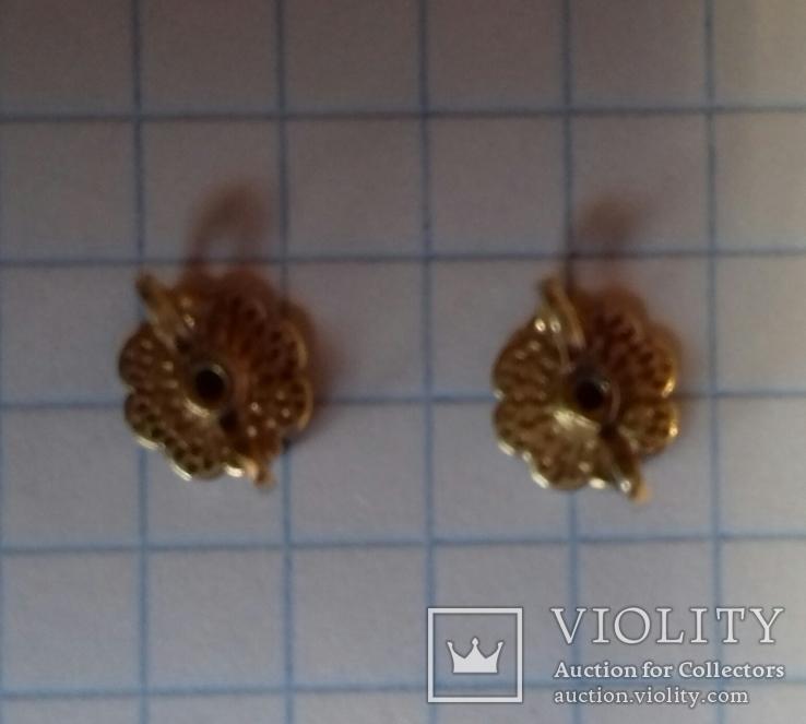 Гвоздики с бриллиантами, фото №5