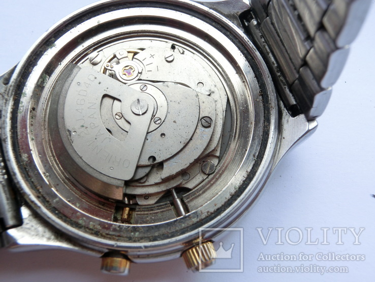 Orient Automatic 21 Jewels Multi-year Calendar, фото №10