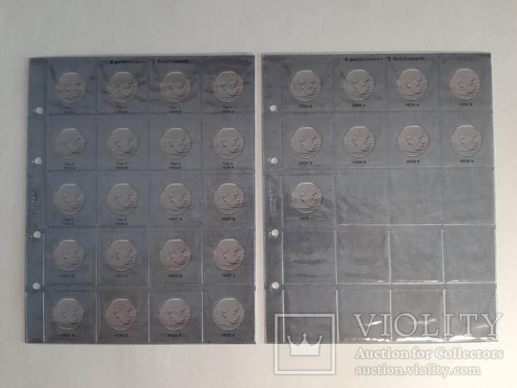 Альбом-каталог для монет Германии 1933-1945гг. (3-й Рейх), с МД., фото №3