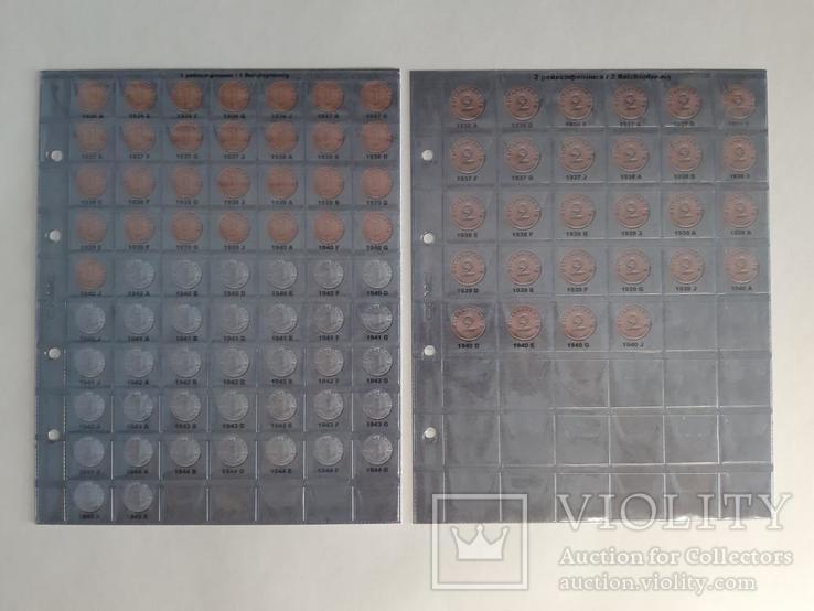 Альбом-каталог для монет Германии 1933-1945гг. (3-й Рейх), с МД., фото №4