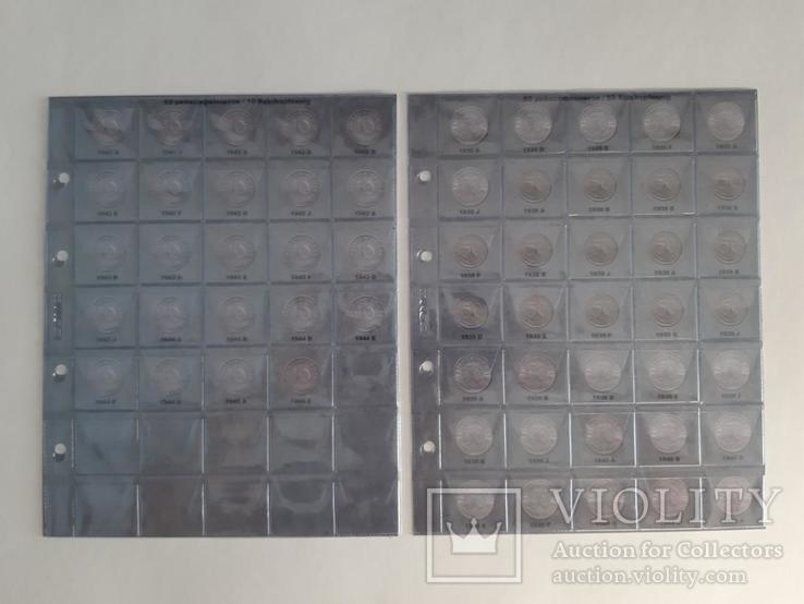 Альбом-каталог для монет Германии 1933-1945гг. (3-й Рейх), с МД., фото №6