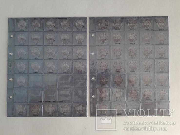 Альбом-каталог для монет Германии 1933-1945гг. (3-й Рейх), с МД., фото №7