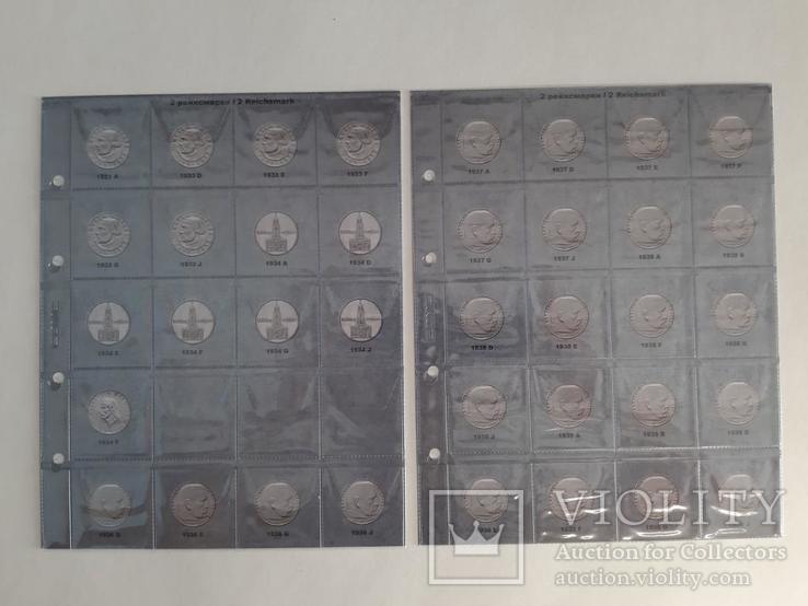 Альбом-каталог для монет Германии 1933-1945гг. (3-й Рейх), с МД., фото №8