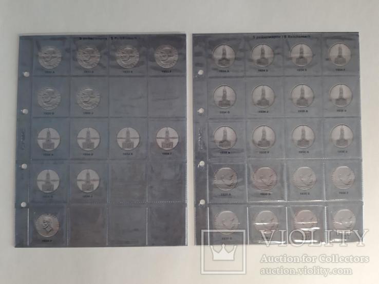 Альбом-каталог для монет Германии 1933-1945гг. (3-й Рейх), с МД., фото №9