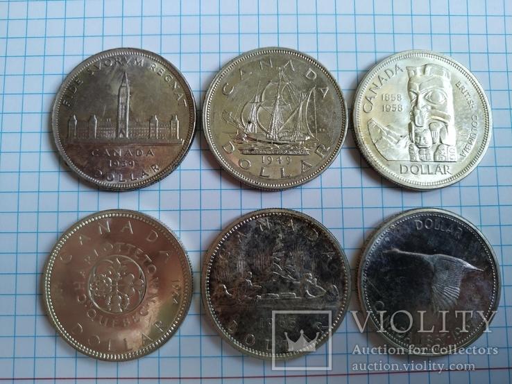 Канада Долари 6 штук, фото №5