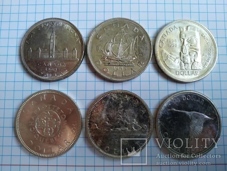 Канада Долари 6 штук, фото №6