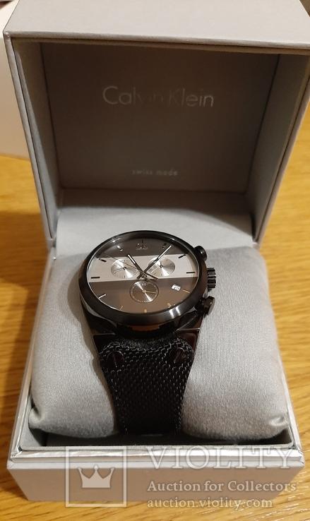Швейцарський годинник Calvin Klein K4B374B3 кварц. Хронограф, фото №2