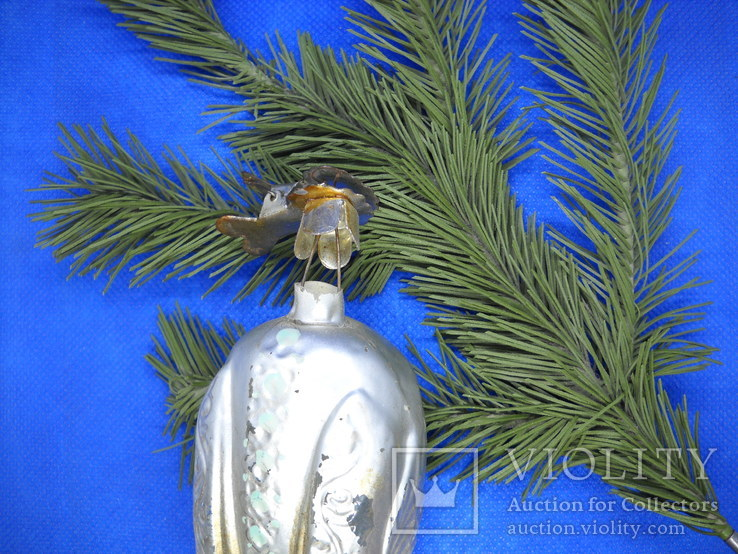 Елочная игрушка царевна лебедь, фото №6