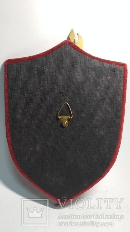 Винтажный декор, щит, геральдика, эмали, фото №5