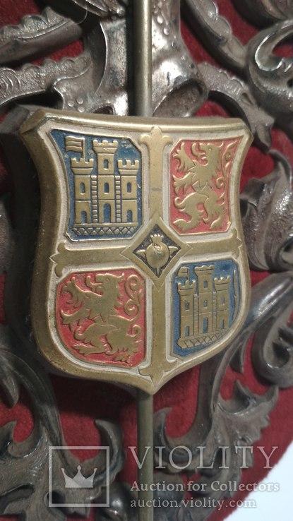 Винтажный декор, щит, геральдика, эмали, фото №7