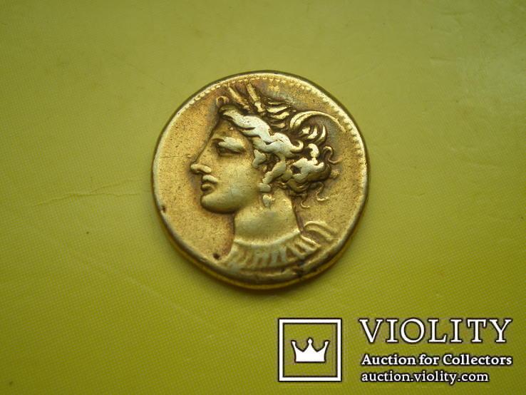 Статер Карфагена. 290-280 гг. до н.э.