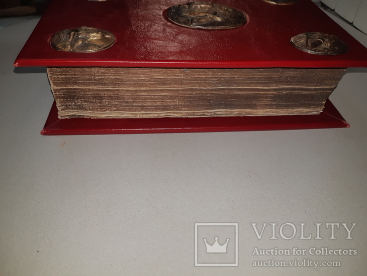 1716 Священное Евангелие - 32х21 см, фото №4