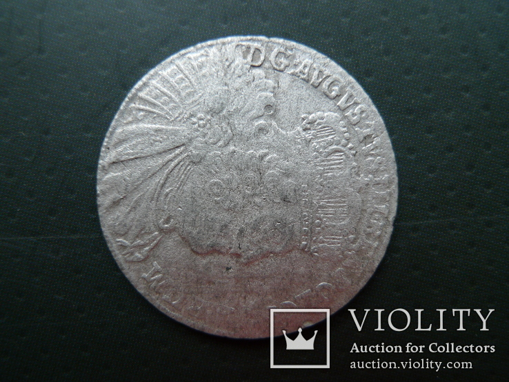 Орт. 1755 год. Август III, фото №3