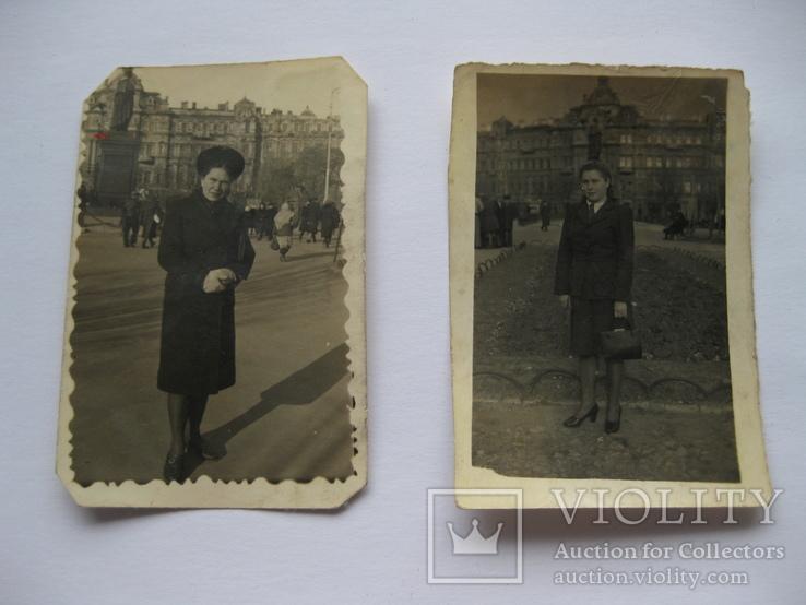 Одесса. Два снимка на фоне Дома Руссова., фото №2